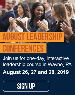 August Leadership Conferences